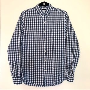 J Crew Tailored Fit Button Front Shirt Small